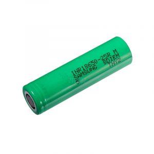 Batería 18650 Samsung 25R 2500mAh-25A